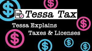 Taxes and Licenses Tax Exemption Video | Tessa Tax
