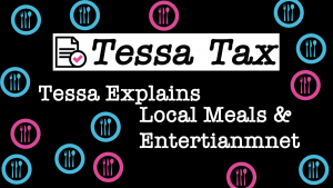 Local Meals and Entertainment Tax Deduction   Tessa Tax